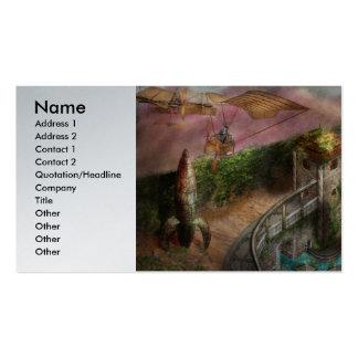 Steampunk - la edad de la invención tarjetas de visita