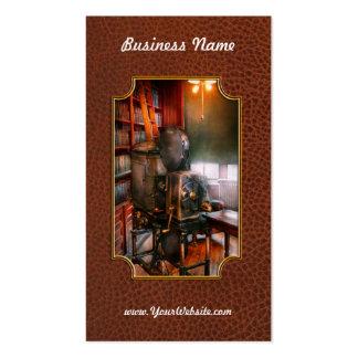 Steampunk - la época dorada del cine tarjeta de visita