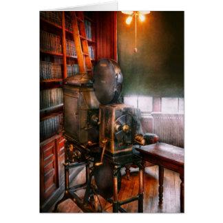 Steampunk - la época dorada del cine tarjeta de felicitación