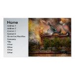 Steampunk - la guerra ha comenzado tarjetas de visita