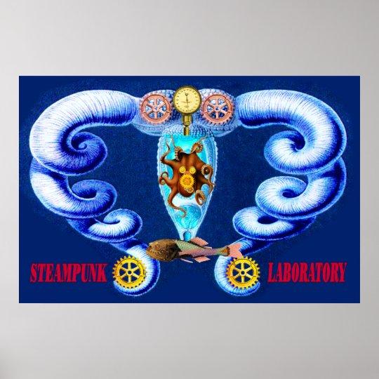 Steampunk ~ Laboratory Poster