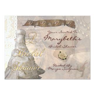 Steampunk Lace 6.5x8.75 Paper Invitation Card