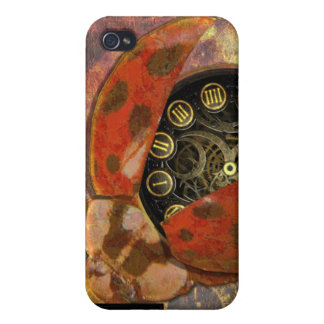 Steampunk Ladybug iPhone4 iPhone 4/4S Cases
