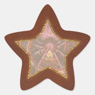Steampunk - las telas que tejemos colcomanias forma de estrellaes personalizadas
