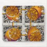 Steampunk Lemons Mousepads