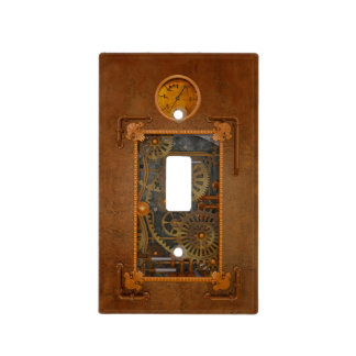 Steampunk Switch Plate Cover