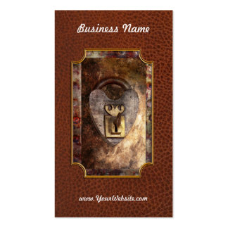 Steampunk - Locksmith - The key to my heart Business Card