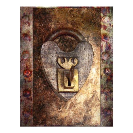 Steampunk - Locksmith - The key to my heart Flyer