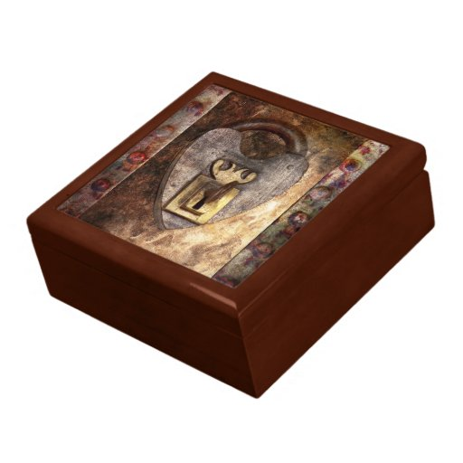 Steampunk - Locksmith - The key to my heart Trinket Boxes