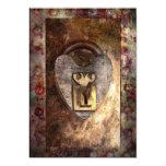 Steampunk - Locksmith - The key to my heart Custom Invites