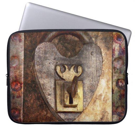 Steampunk - Locksmith - The key to my heart Laptop Sleeve
