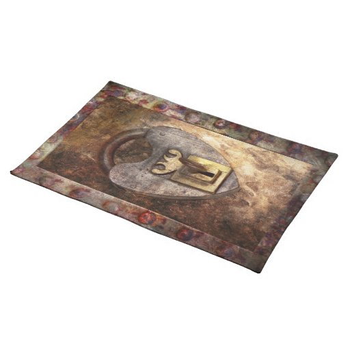 Steampunk - Locksmith - The key to my heart Placemats