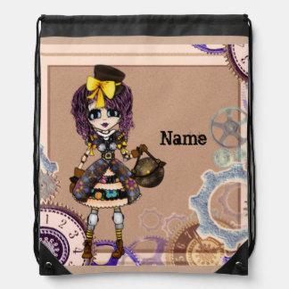 Steampunk Lolita Fashion  Girly Gifts personalized Drawstring Bag
