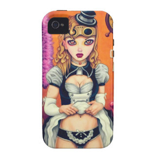 Steampunk Lolita: Victoria Vibe iPhone 4 Case