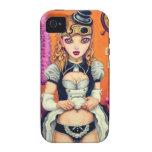 Steampunk Lolita: Victoria iPhone 4/4S Carcasas