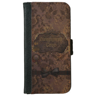 Steampunk Love 2 Wallet Phone Case For iPhone 6/6s