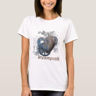 Steampunk love riveted heart T-Shirt