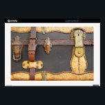 "Steampunk Luggage 17&quot; Laptop Decals<br><div class=""desc"">A vintage-looking case for your very modern gadgetry.</div>"