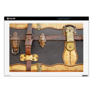 "Steampunk Luggage 17"" Laptop Decals"