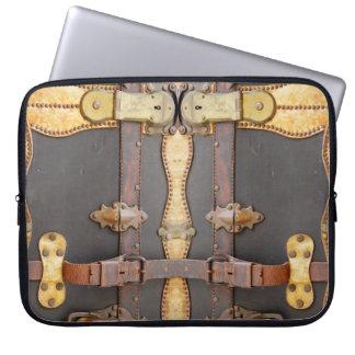 Steampunk Luggage Electronics Bag