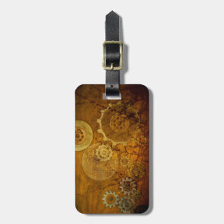 Steampunk Luggage Tag