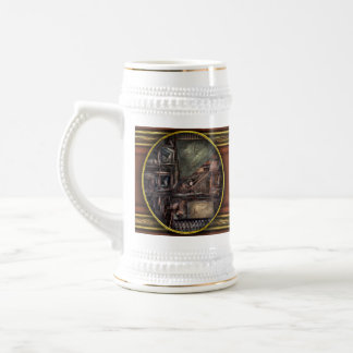 Steampunk - Machine - All the bells and whistles Beer Stein