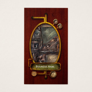 Steampunk - Machine - All the bells and whistles Business Card