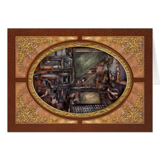 Steampunk - Machine - All the bells and whistles Card