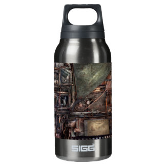 Steampunk - Machine - All the bells and whistles Insulated Water Bottle