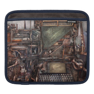 Steampunk - Machine - All the bells and whistles iPad Sleeve