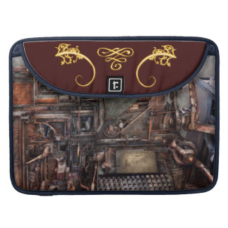 Steampunk - Machine - All the bells and whistles Sleeve For MacBook Pro