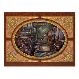 Steampunk - Machine - All the bells and whistles Postcard