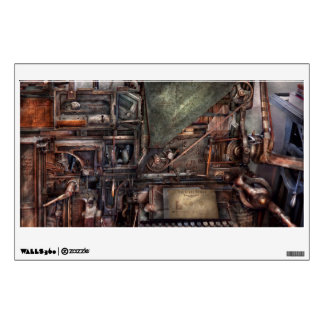 Steampunk - Machine - All the bells and whistles Wall Decal