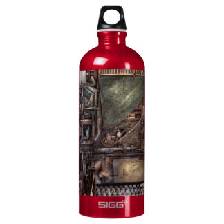 Steampunk - Machine - All the bells and whistles Water Bottle