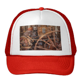 Steampunk - Machine - The industrial age Trucker Hat