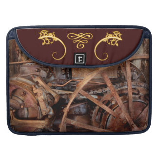 Steampunk - Machine - The industrial age Sleeves For MacBook Pro
