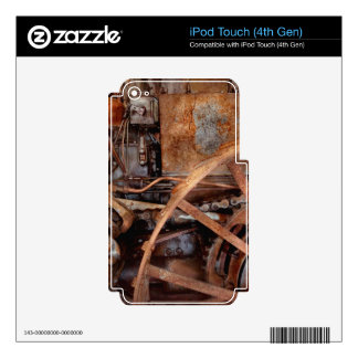 Steampunk - Machine - The industrial age Skin For iPod Touch 4G