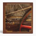 Steampunk - Machine - The wheel works Vinyl Binders