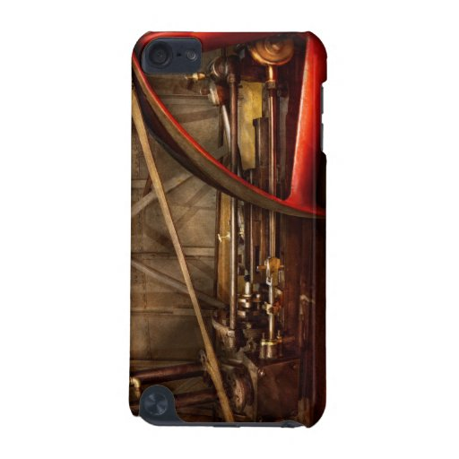 Steampunk - Machine - The wheel works iPod Touch (5th Generation) Covers