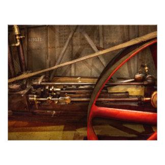 Steampunk - Machine - The wheel works Flyer