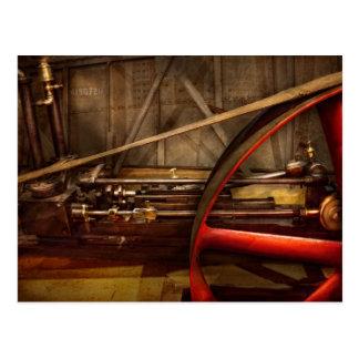 Steampunk - Machine - The wheel works Postcard
