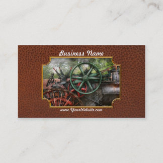 Steampunk - Machine - Transportation of the future Business Card