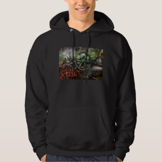 Steampunk - Machine - Transportation of the future Hoodie