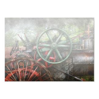 Steampunk - Machine - Transportation of the future Personalized Invitations
