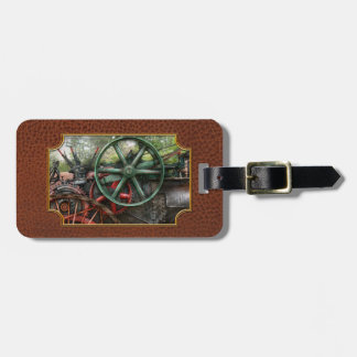 Steampunk - Machine - Transportation of the future Luggage Tag