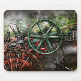 Steampunk - Machine - Transportation of the future Mouse Pad
