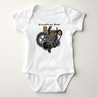Steampunk Machinery Baby Bodysuit