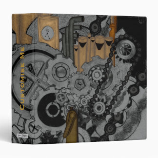 Steampunk Machinery Binder