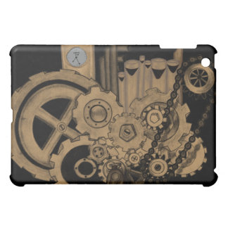 Steampunk Machinery (Brassy) Cover For The iPad Mini