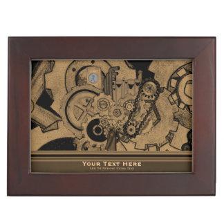 Steampunk Machinery (Brassy) Memory Box